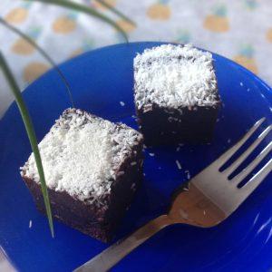 Kókuszos csokikocka
